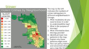 Neighborhoods In Chicago Map by Geographic Problem Solving Crime Civics Geography Ppt Download