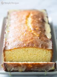 almond pound cake with orange glaze recipe simplyrecipes com