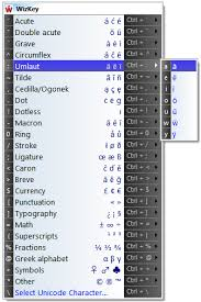 antibody software wizkey makes it easy to type accented and