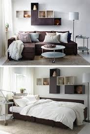 Ikea Sofabed Holmsund Sleeper Sofa Nordvalla Medium Gray Extra Bed Extra