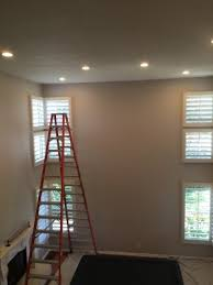 change ceiling light to recessed light recessed lighting high ceiling install carmel valley custom electric