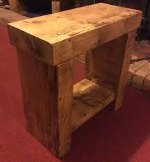 farmhouse solid wood benches ebay