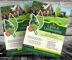 lawn care flyers u2013 28 free psd ai vector eps format download