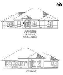 4 Bedroom Single Floor House Plans Four Room House Design House Design