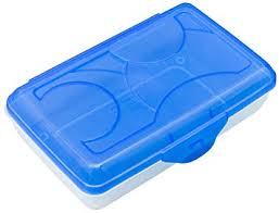 pencil box sterilite plastic pencil box 17234812 large