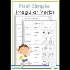 past simple irregular verbs worksheets educents