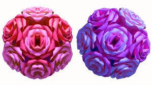 Flower Ball How To Make A Flower Ball Rose Ball Diy Crafts Hd Youtube