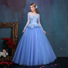 light blue long sleeve dress 100 real embroidery beading light blue long sleeve medieval dress
