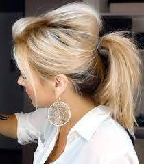 poof at the crown hairstyle 9 best messy ponytail hairstyles styles at life