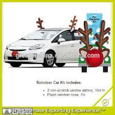 car antlers reindeer antlers and nose car decoration buy christmas reindeer