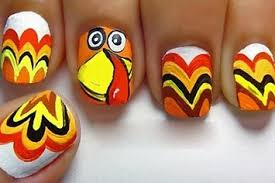 23 snazzy nail ideas for thanksgiving