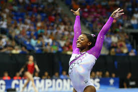 simone biles dominates at u s gymnastics event in st louis cbs