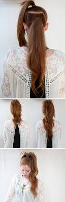 cute hairstyles you can do in 5 minutes 23 five minute hairstyles for busy mornings