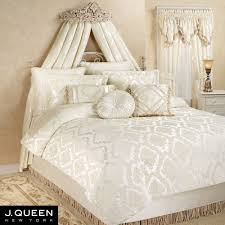 Queen Comforter Estate Chenille Medallion Comforter Bedding By J Queen New York