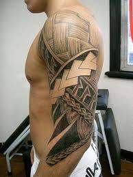 hawaiian tribal tattoos design idea for men and women