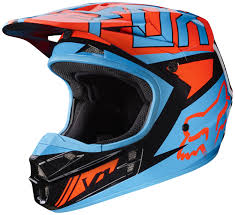 motocross gear fox fox racing v1 falcon helmet revzilla