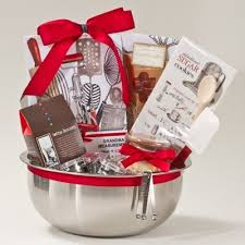 kitchen basket ideas gift basket idea for the baker on your list gift guide food