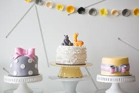 grey and yellow baby shower from wu la la event design and lucy