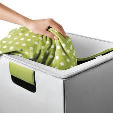 amazon com oxo tot flip in flex lid hamper gray green nursery
