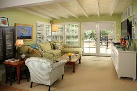 Roman Shades French Doors Family Room Eclectic With Drum Shade - Family room in french