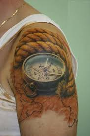 tattoo compass realistic 50 best compass tattoo designs and ideas