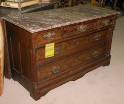 Marble Table Tops For Sale by Marble Top Eastlake Walnut Dresser For Sale Antiques Marble Top