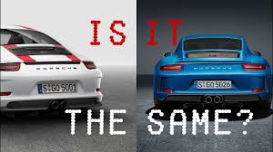 is it the same porsche 911 gt3 with touring package youtube