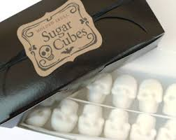 sugar cubes where to buy skull sugar cubes 6 bags of four skulls make the