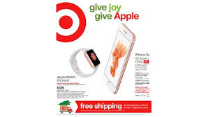 black friday target iphone 6s plus watch and iphone 6s deals kick off target holiday sale