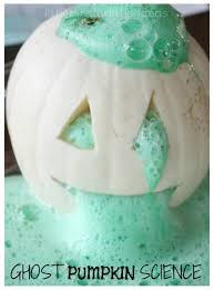 Halloween Crafts And Games For Kids by Pumpkin Volcano Science Activity Baking Soda Science
