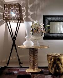 Crystal Coffee Table by Coffee Table In Metal With Swarovski Crystals From Fiorentino Home