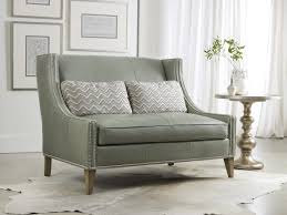 Gray Nailhead Sofa Sofa Broyhill Sofa Leather Sofa Set Tufted Nailhead Sofa Grey