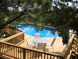above ground pool deck plans free above ground pool deck above