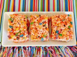 tutti cuisine tutti frutti rice krispies treats recipe live laugh food
