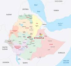 Ethiopia World Map by Ethiopia Interactive Map