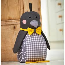 Decorative Doorstop Penguin Door Stop Penguins Draught Excluders And Doors