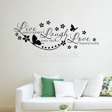 love live laugh 308a fancy style butterfly flower live laugh love wall decal jpg