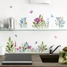 Butterfly Kitchen Decor Popular Floral Kitchen Decor Buy Cheap Floral Kitchen Decor Lots