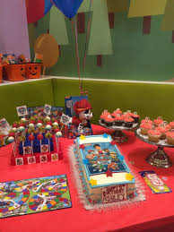 paw patrol candy table ideas paw patrol dessert table paw patrol birthday party pinterest
