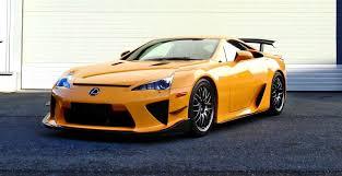orange lexus lfa hypercar 202mph 2012 lexus lfa nurburgring pack in 110