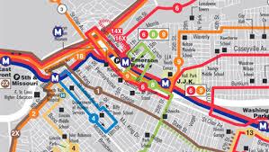stl metro map st louis metrolink map my