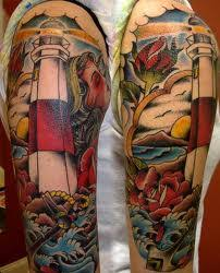 lighthouse tattoo designs ideas and meanings tatring