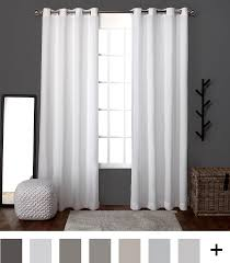 curtain hanging options amazon com exclusive home curtains loha linen window curtains