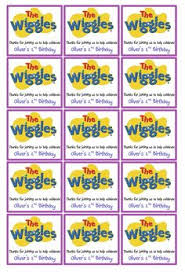 wiggles birthday invitations digital download get these