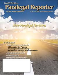 national paralegal reporter fall 2016 by nfpa issuu