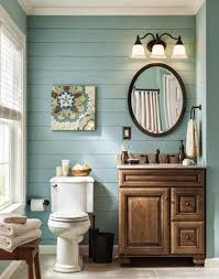 wall ideas for bathroom modern bathroom with wooden slats on walls in mint green blue