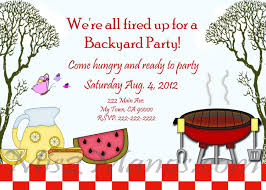 Printable Party Invitation Cards Bbq Invitations Diy Printable Barbecue Party Invites