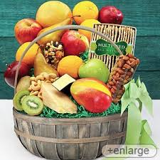Best Food Gift Baskets Fruit Gift Basket