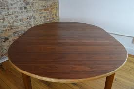 Modern Dining Table With Extension Interform Collection Danish Rosewood Extension Dining Table