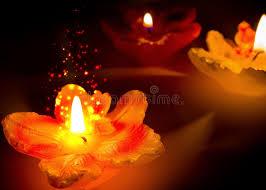 candele scintillanti candele scintillanti di forma fiore immagine stock immagine